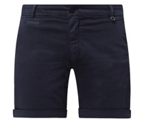 Chino-Shorts mit Stretch-Anteil Modell 'Jaqueline'