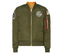 Wende-Bomber mit Patches