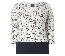 PLUS SIZE - Pullover mit Sternenmuster