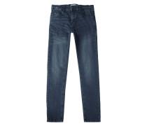 Light Stone Washed Regular Fit 5-Pocket-Jeans