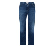 PLUS SIZE Flared High Rise Jeans mit Stretch-Anteil