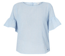 Blusenshirt aus Baumwollkrepp