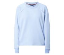 Boxy Fit Sweatshirt mit Cut Outs