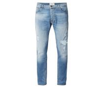 5-Pocket-Jeans im Used Look