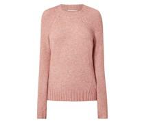 Pullover mit Stehkragen Modell 'Sandy'
