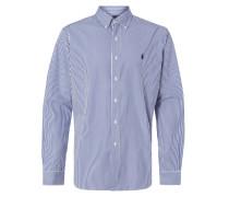 Slim Fit Hemd mit Streifenmuster