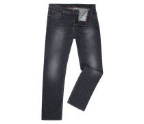 Rinsed Washed 5-Pocket-Jeans
