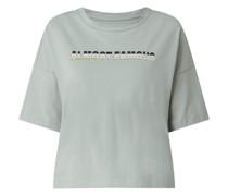 Boxy Fit T-Shirt mit Print Modell 'Amy'