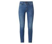 Skinny Fit High Rise Jeans mit Stretch-Anteil Modell 'Scarlett'