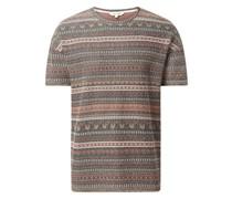 T-Shirt aus Jacquard