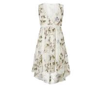 Vokuhila Kleid aus reiner Seide