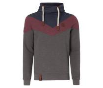 Sweatshirt im dreifarbigen Design
