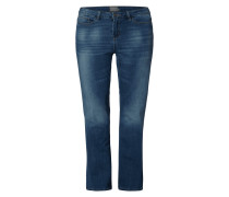 PLUS SIZE - Stone Washed Jeans