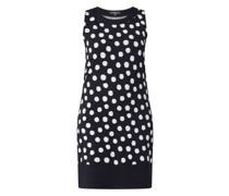 Kleid mit Punktmuster
