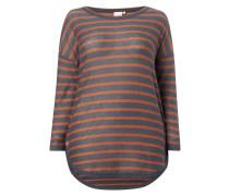 PLUS SIZE - Pullover mit Streifenmuster