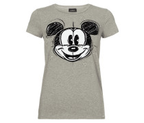 T-Shirt mit Disney©-Flockprint