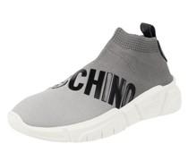 Sock Sneaker mit Logo-Print