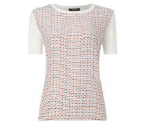 Shirt aus Seide mit Allover-Muster