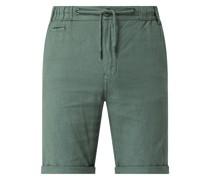 Shorts aus Leinen-Baumwoll-Mix Modell 'Sohan'