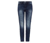 PLUS SIZE - Bleached Slim Fit Jeans