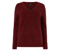 PLUS SIZE Pullover mit Alpaka-Anteil Modell 'Iva'