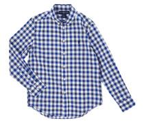 Hemd aus Baumwolle mit Vichy Karo