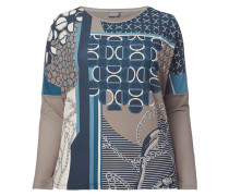 PLUS SIZE - Longsleeve mit Allover-Muster