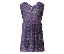 Kleid mit Plisseefalten Modell 'Mina'