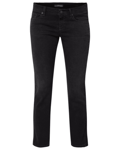 Coloured Cropped Jeans