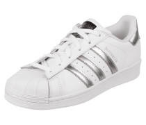 Sneaker mit Metallic-Details