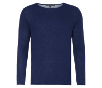 Pullover mit Abschlüssen in Kontrastfarbe