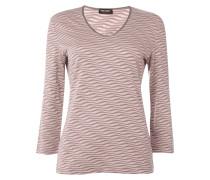 Shirt mit strukturiertem Wellenmuster