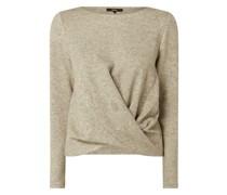 Pullover mit Knotendetail Modell 'Udara'