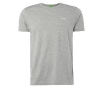 Modern Fit T-Shirt mit gummierten Logo-Prints