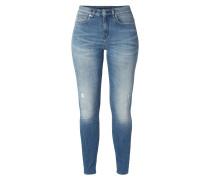 Used Look Skinny Fit 5-Pocket-Jeans