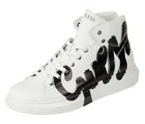 High Top Sneaker aus Leder Modell 'Salerno'
