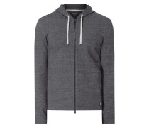 Shaped Fit Sweatjacke mit Kapuze