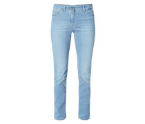 Rinsed Washed Modern Fit Jeans