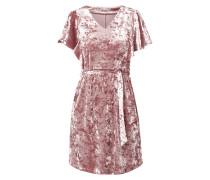 Kleid aus Samt mit Flügelärmeln