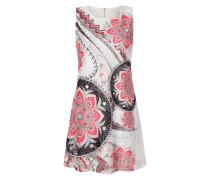 Kleid aus Spitze mit ornamentalem Print