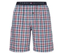 Pyjamashorts mit elastischem Logo-Bund