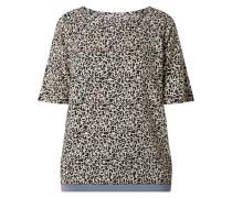 Blusenshirt mit Allover-Muster Modell 'Rejane'