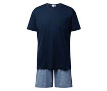 Regular Fit Pyjama aus Baumwolle