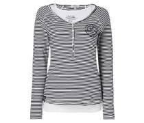 Serafino-Shirt inklusive Untertop