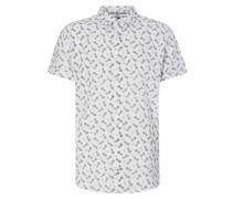 Tailored Fit Freizeithemd mit kurzem Arm