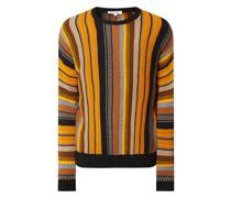 Pullover mit Streifenmuster Modell 'Carlo'