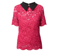 Blusenshirt aus floraler Spitze