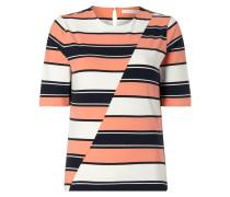 Shirt mit diagonaler Teilungsnaht