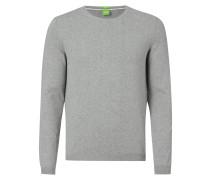 Regular Fit Pullover aus reiner Baumwolle