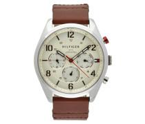 Uhr aus Edelstahl mit Multifunktion